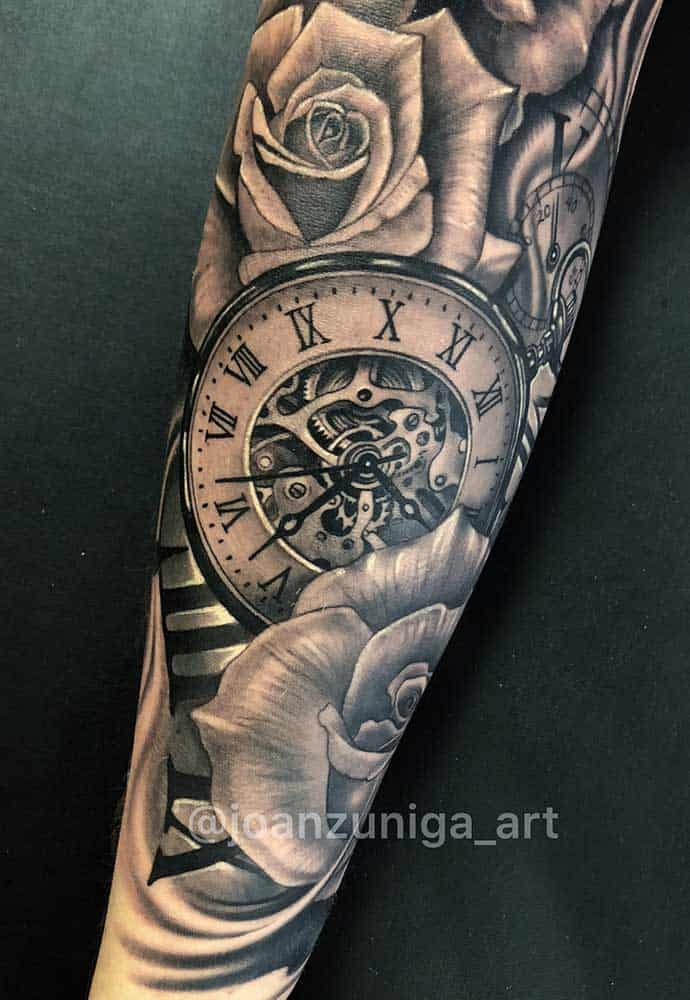 Best Walk In Tattoo Places Near Me Roses Tattoo Sleeve