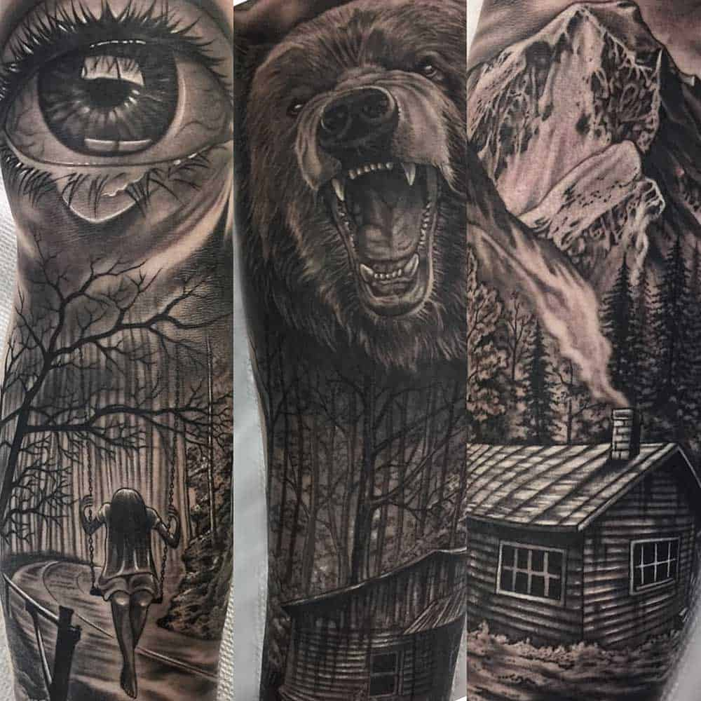 black and grey best tattoos fayetteville nc