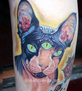 realistic color tattoo fayetteville NC